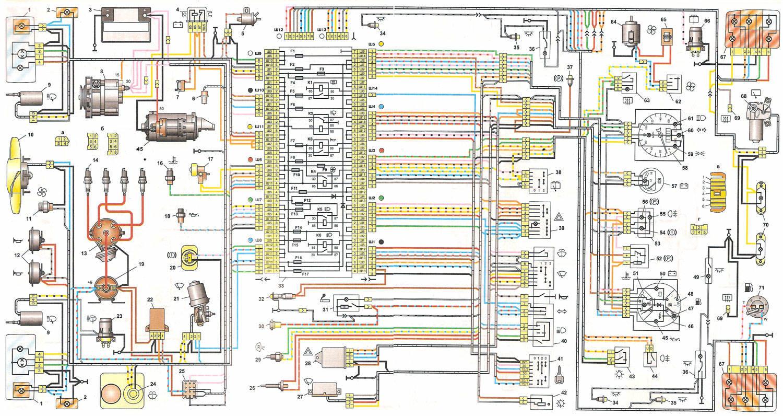 Ваз 21053 рулевой схема